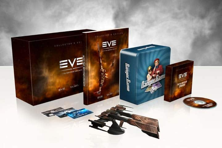 EVE – The Second Decade Collector's Edition, currently selling for $50 and PLEX 15% off!