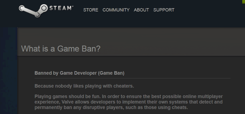 Steam now allows devs to 'game ban' disruptive players