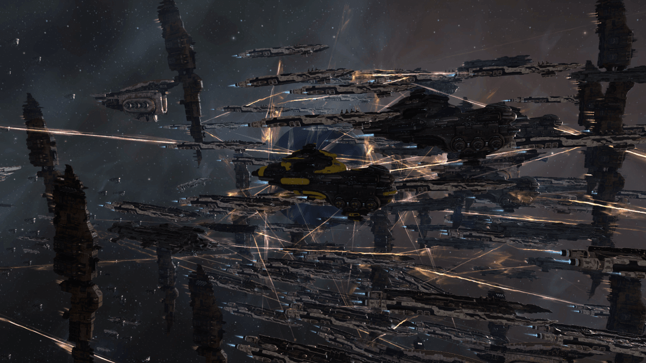 EVE Online hosts massive battle in UALX-3