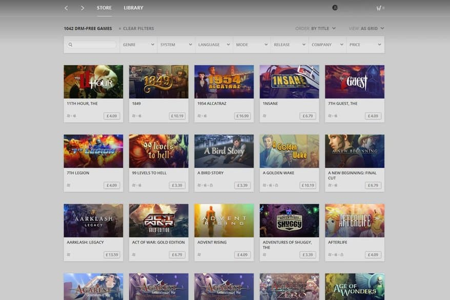 GOG Summer Sale is now on, get great deals and free games