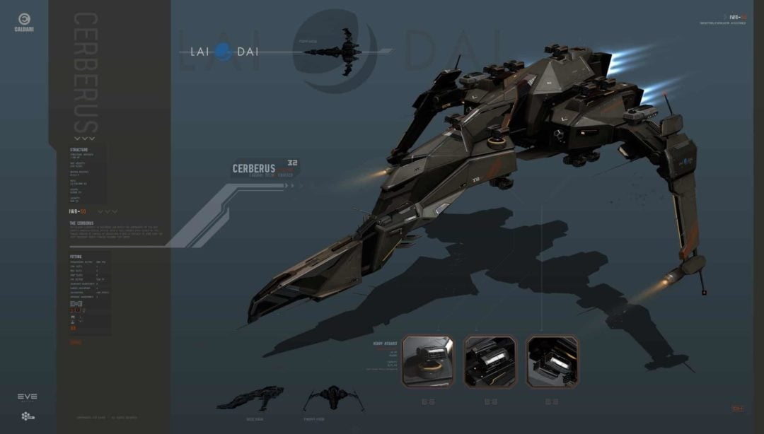 VR/360 Preview of Valkyrie and EVE ships