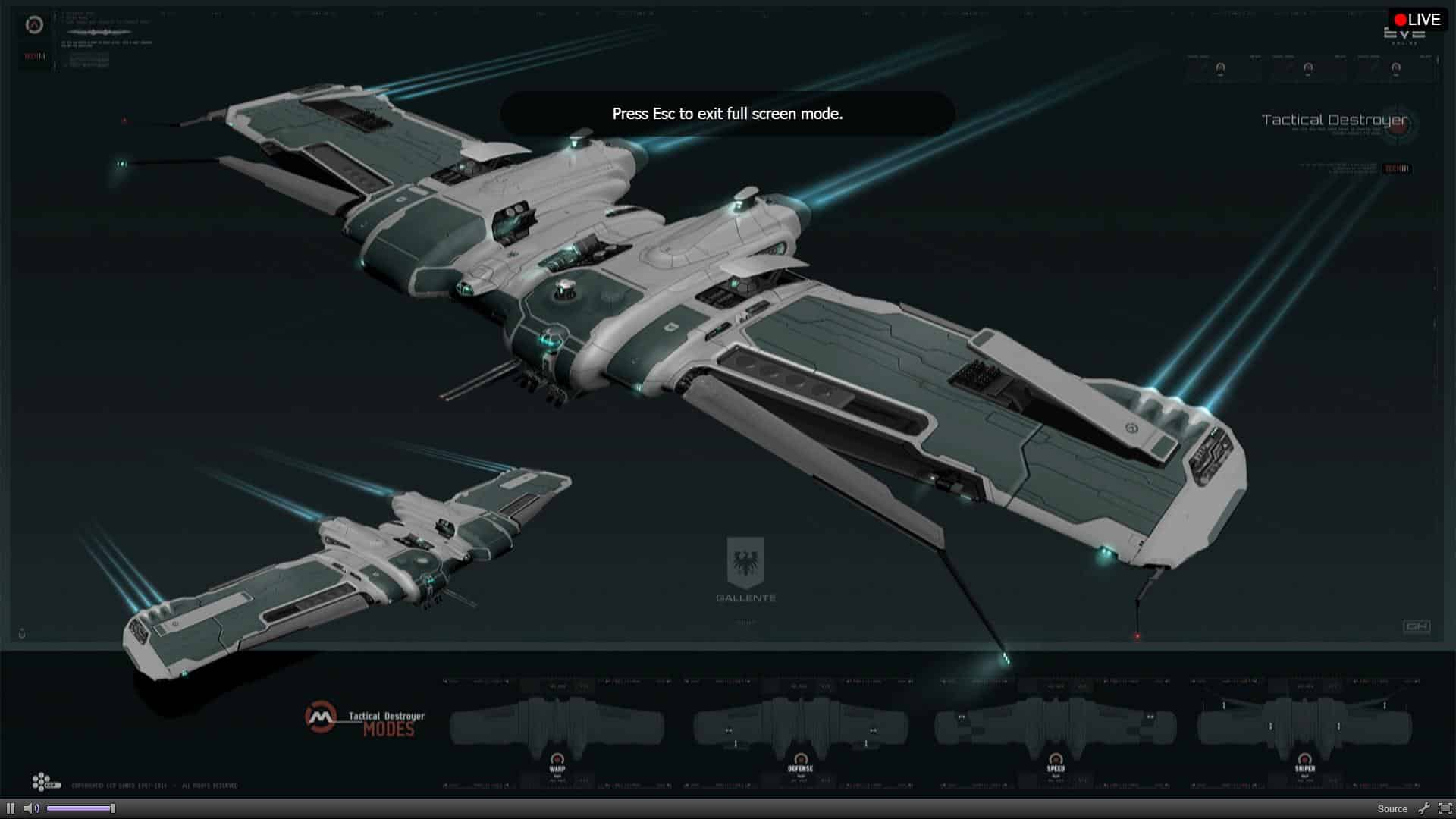 Missile guidance modules, the Hecate and balance updates in Aegis