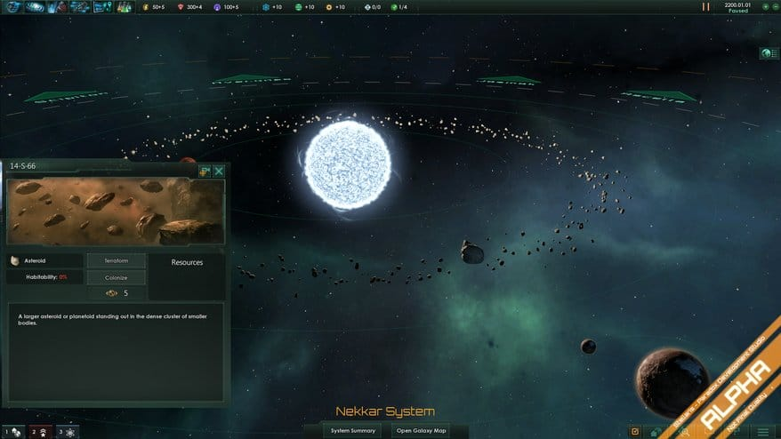 Paradox shows off massive scale of Stellaris