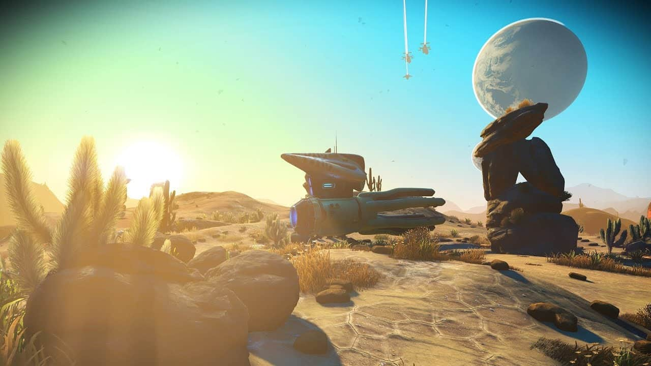 No Man's Sky update 2.3 adds Living Ship