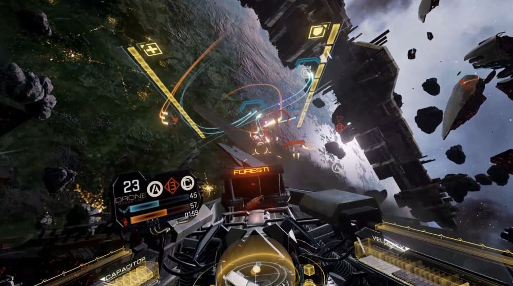 EVE Valkyrie patch adds HOTAS and widescreen support