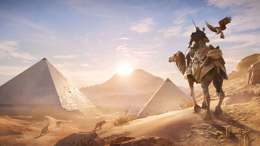 "Free update turns Assassin's Creed Origins into a ""Discovery Tour"""