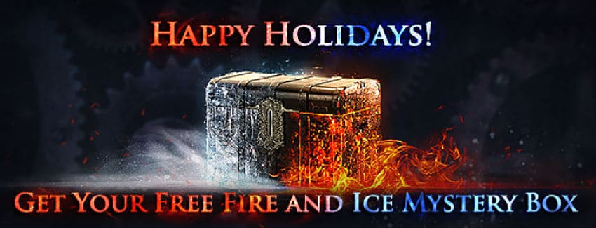 Happy Holidays! Get a Free Fire and Ice Mystery Box in POE