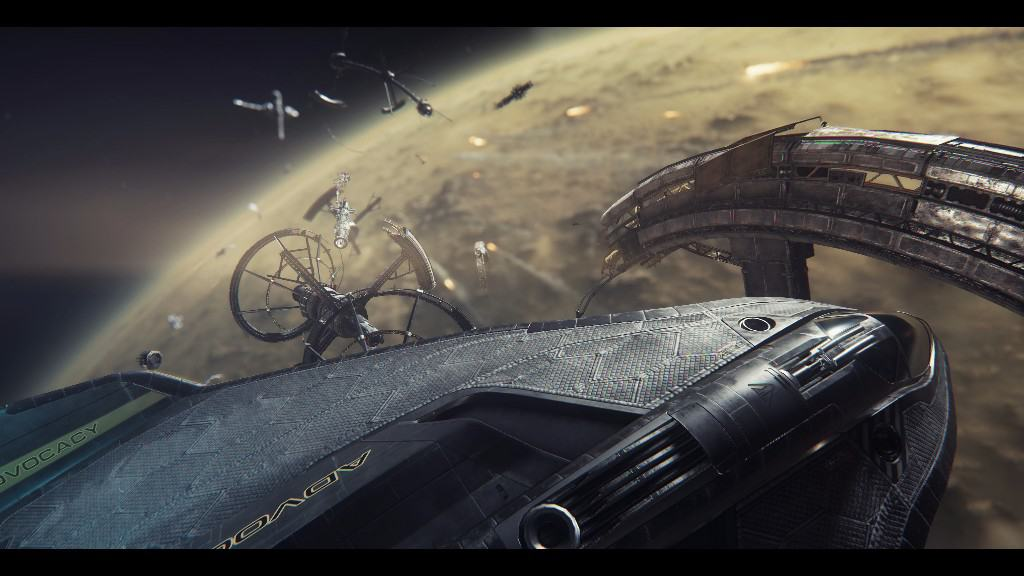 Star Citizen's New Video Tackles Atmospheric Flight; and Squadron 42 Teaser