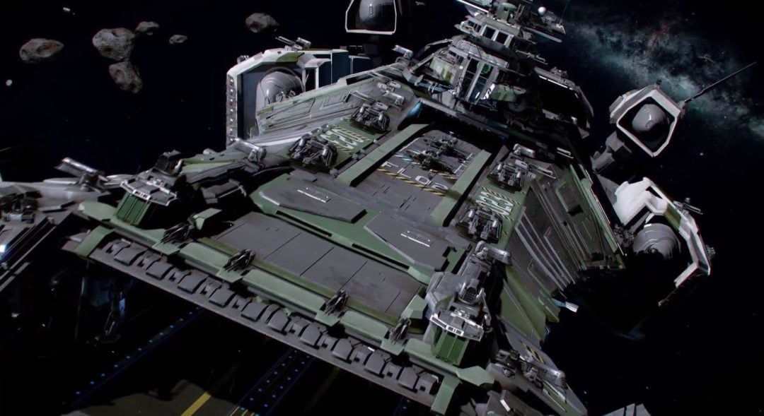 Star Citizen reveals Drake Privateer Carrier