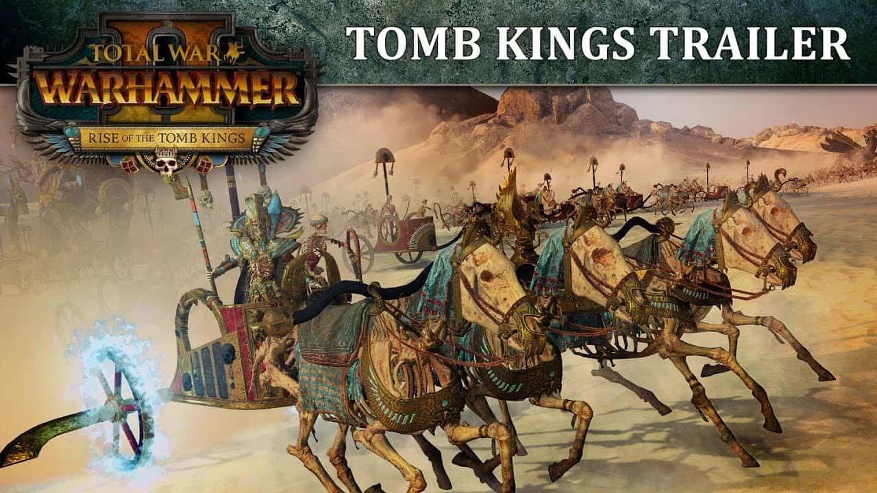 Total War: Warhammer Tomb Kings DLC arrives in January