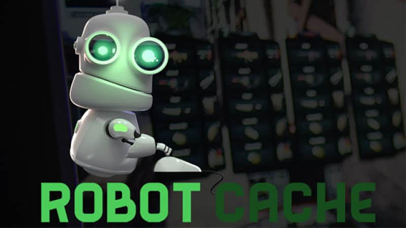 Robot Cache PC store will use blockchain and allow you to resell games