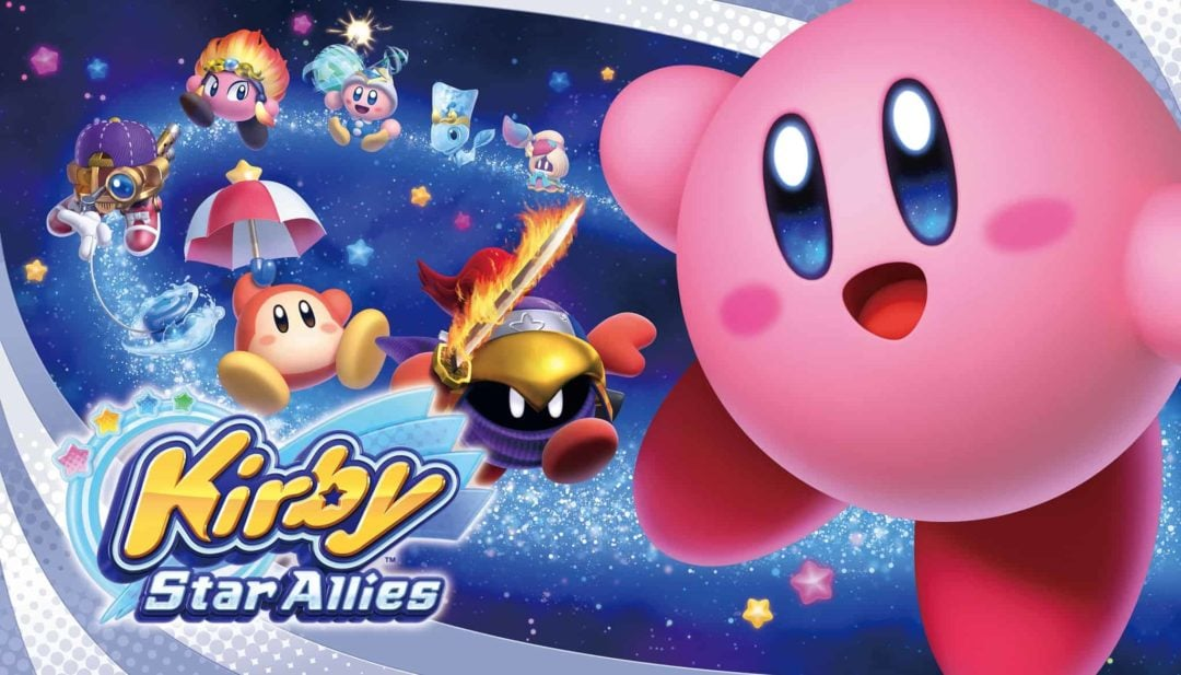 Check out the launch trailer for Kirby: Star Allies