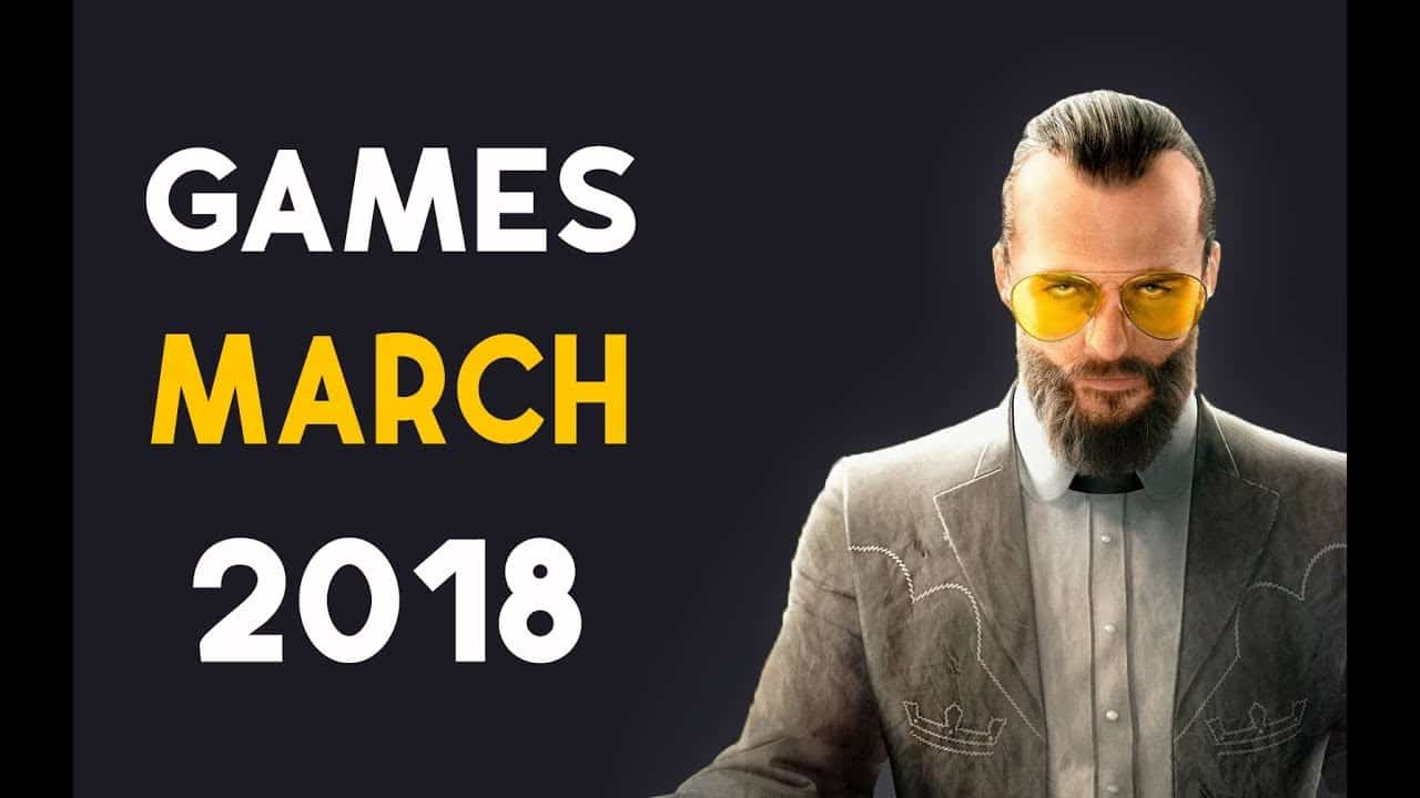 March 2018 New Releases