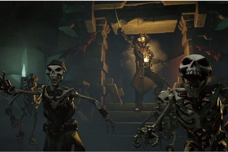 Sea Of Thieves The Arena PvP expansion announced, due in 2019