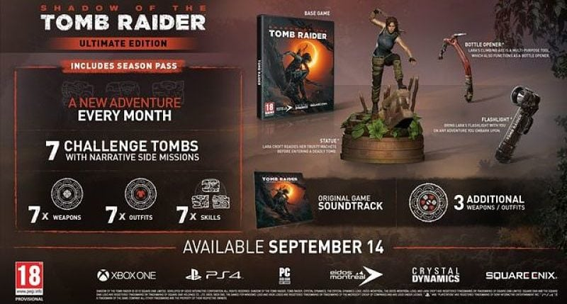 Shadow of the Tomb Raider Ultimate Edition