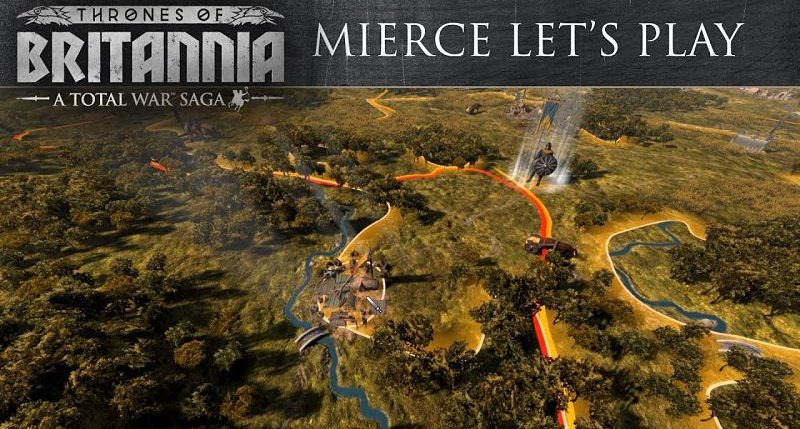 Total War Saga Thrones of Britannia Mierce
