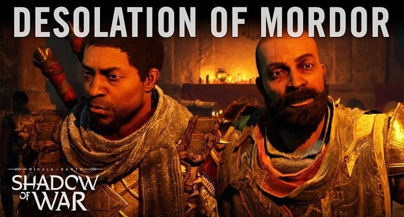 Desolation of Mordor DLC Trailer