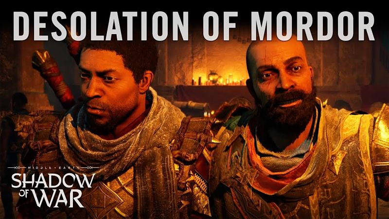 Middle-Earth: Shadow of War – Desolation of Mordor cinematic released