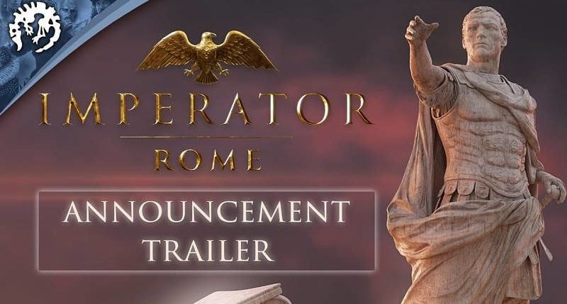 Paradox Announces Imperator: Rome