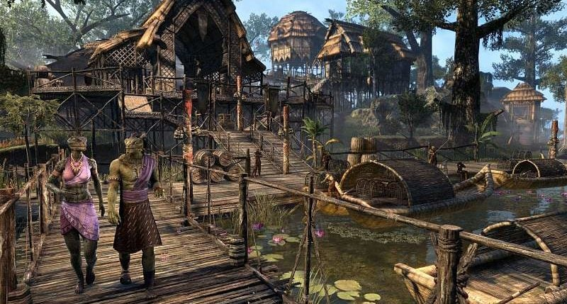 ESO Wolfhunter And Murkmire Expansions