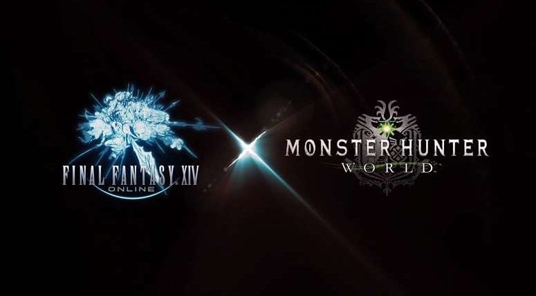 Final-Fantasy XIV Monster Hunter World Collab
