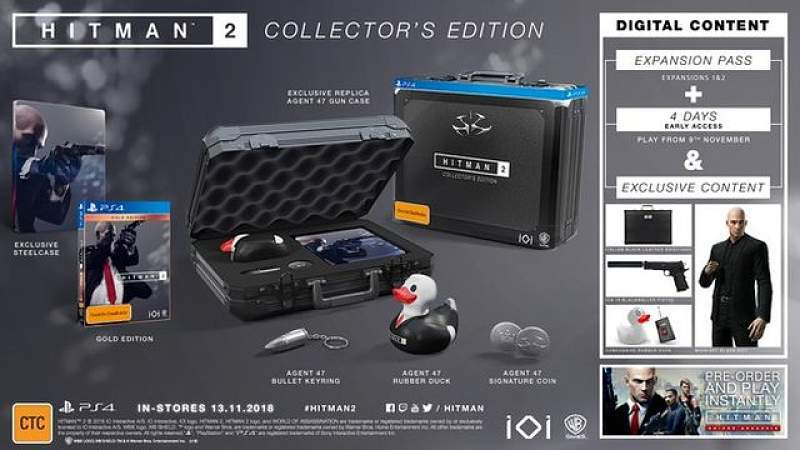 Hitman 2: Collector's Edition details released