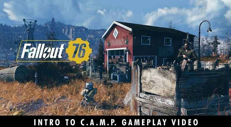 Fallout 76 CAMP trailer