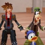 Shinji Hashimoto shares a moment with Kingdom Hearts III fans