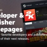 Steam devs and publishers can now create custom homepages