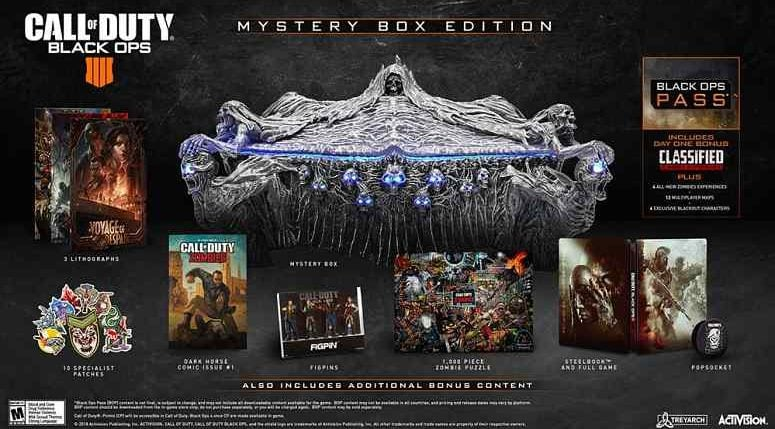 Call of Duty: Black Ops 4's Mystery Box Edition