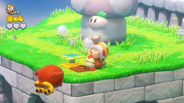 Captain Toad: Treasure Tracker Launched