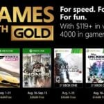 Microsoft details Games With Gold for August 2018