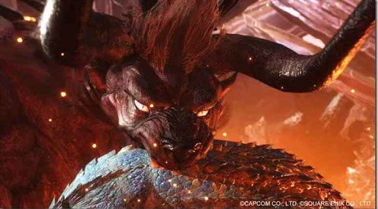 Monster Hunter World Behemoth FF XIV release date