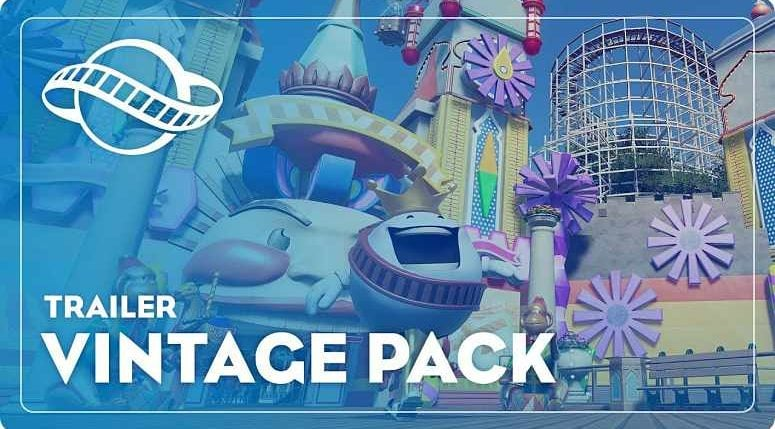 Planet Coaster Vintage Pack DLC