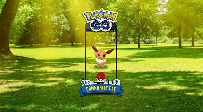 Pokemon Go announced Eevee for August 2018 Community Day