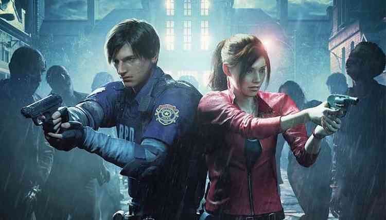 Resident Evil 2 Claire Noir And Leon Arklay Sheriff Dlc