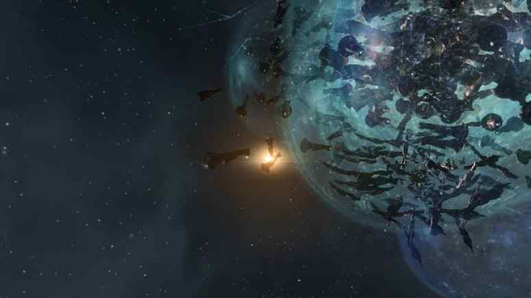 Trillions of ISK destroyed in X47L-Q