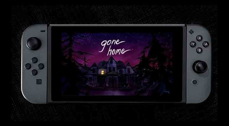 Gone Home Switch Release