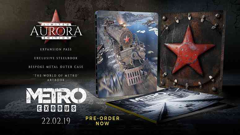 Metro Exodus: Aurora Limited Edition and Gold Digital Edition are coming soon