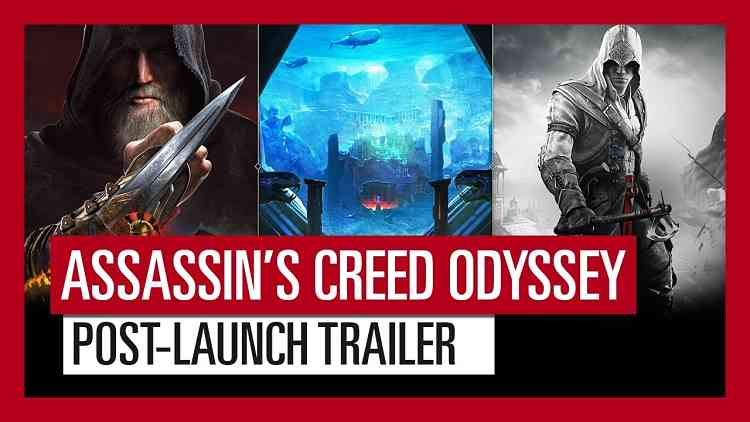 Assassin's Creed Odyssey post launch plan detailed, biggest ever in the series