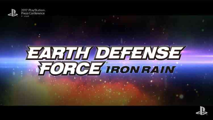 Earth Defense Force: Iron Rain Gameplay