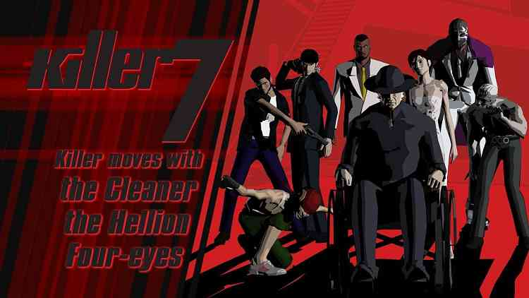 SUDA51's Killer7 is getting a PC release, has a new trailer