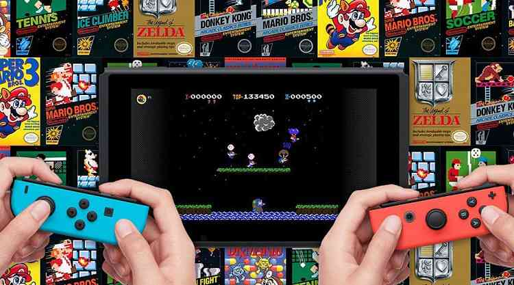 Switch Online App contains new NES and SNES games