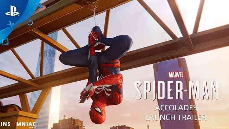 Marvel's Spider-Man Accolades Trailer