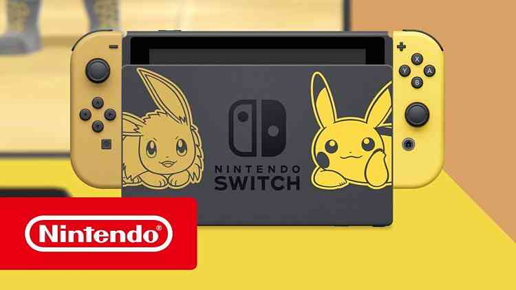 Pokemon: Let's Go Pikachu and Eevee announce Switch console bundles
