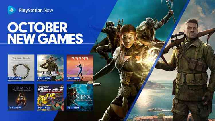 Elder Scrolls Online, Sniper Elite 4, and others added to Playstation Now this month