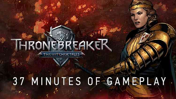 CD Projekt Red Releases an Extended Gameplay Video for Thronebreaker: The Witcher Tales