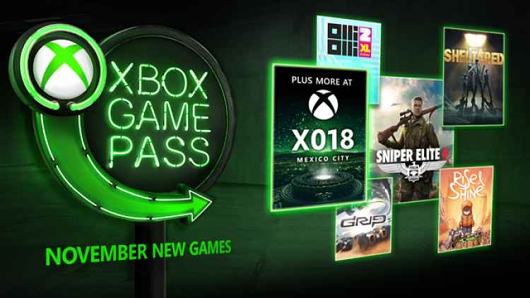 Sniper Elite 4 and Grip coming to Xbox Game Pass in November