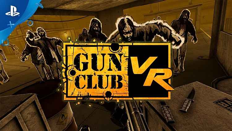 Gun Club VR PSVR Announcement Trailer