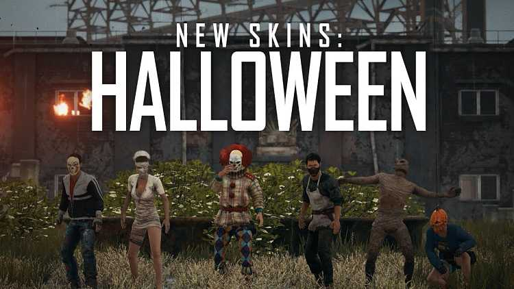 PlayerUnknown's Battlegrounds getting new Halloween skins and masks